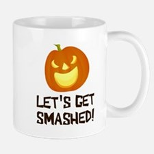Let's Get Smashed Halloween Party Mugs