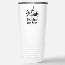 Music Teacher personalized Travel Mug