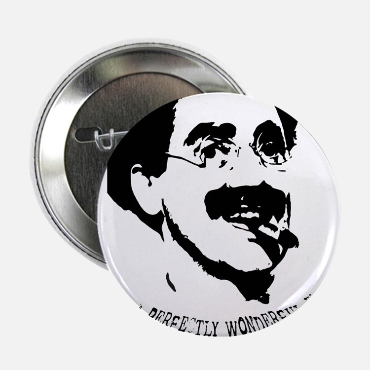 """Cute Marx brothers 2.25"""" Button"""