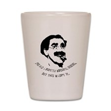 Cute Marx brothers Shot Glass
