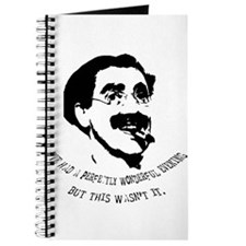 Cute Groucho marx quote Journal