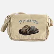 Friends Just Know Messenger Bag