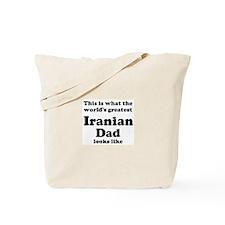 Iranian dad looks like Tote Bag