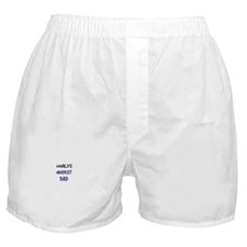 Cute World's okayest dad Boxer Shorts