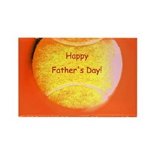 Orange Tennis Ball Fathers Day Designer Magnets