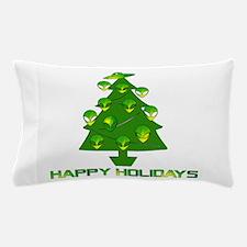 Alien Christmas Tree Pillow Case