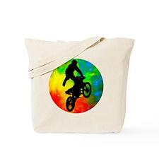 Unique Motorcycle racing Tote Bag