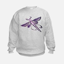 Unique Dark purple Sweatshirt