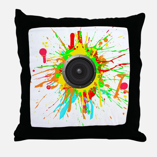 See The Music! Throw Pillow