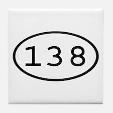 138 Oval Tile Coaster