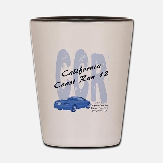 Funny California car Shot Glass