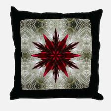 Angel Hair Ornament Throw Pillow