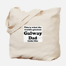 Galway dad looks like Tote Bag