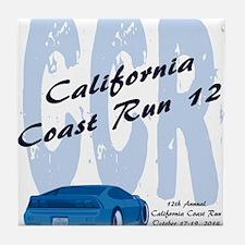 Unique California coast run Tile Coaster