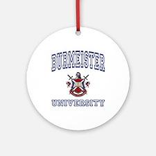 BURMEISTER University Ornament (Round)