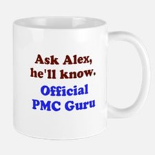 Ask Alex, he;ll knw. PMC Guru Mugs