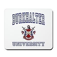 BURKHALTER University Mousepad