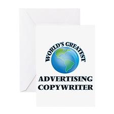 World's Greatest Advertising Copywriter Greeting C