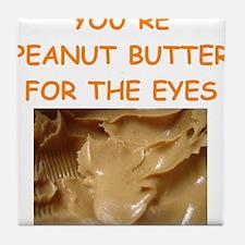 peanut butter lover Tile Coaster