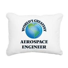 Cute College aerospace engineer Rectangular Canvas Pillow