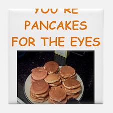 pancakes Tile Coaster