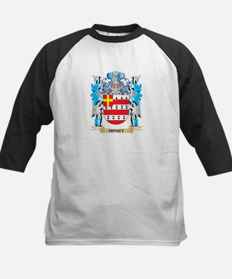 Hosey Coat of Arms - Family Crest Baseball Jersey