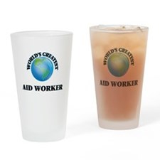 Cool Aid worker Drinking Glass