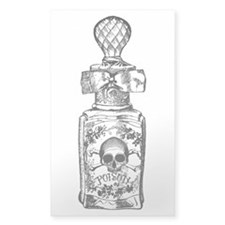 Pretty Poison Bottle Decal
