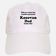 Kosovan dad looks like Baseball Baseball Cap