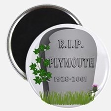 R.I.P. Plymouth Magnets