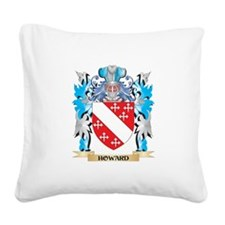 Cute Howard coat of arms Square Canvas Pillow