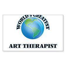 World's Greatest Art Therapist Decal