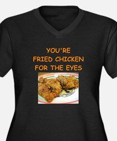 fried chicken lover Plus Size T-Shirt