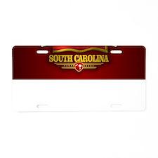 South Carolina DV Aluminum License Plate