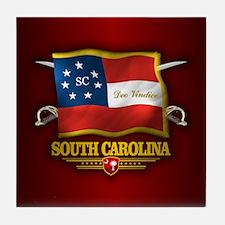 South Carolina DV Tile Coaster