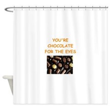 chocolate lover Shower Curtain