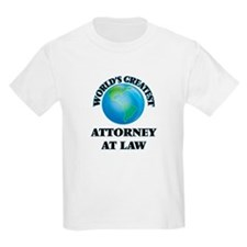 World's Greatest Attorney At Law T-Shirt