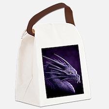 purple dragon Canvas Lunch Bag