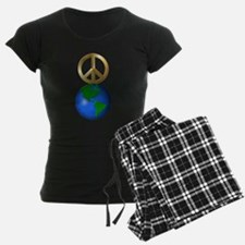 Peace on Earth Word Puzzle Pajamas