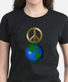 Peace on Earth Word Puzzle Tee