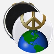 Peace on Earth Word Puzzle Version Magnet