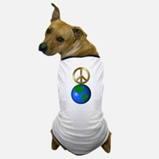 Peace on Earth Word Puzzle Version Dog T-Shirt