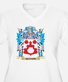 Hudson Coat of Arms - Family Crest Plus Size T-Shi