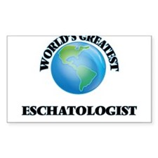 World's Greatest Eschatologist Decal