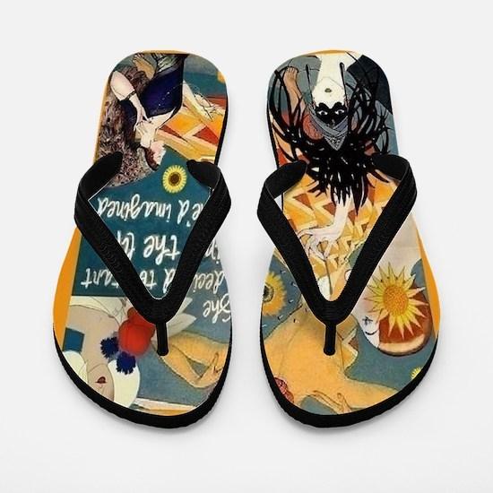 Life Imagined Flip Flops