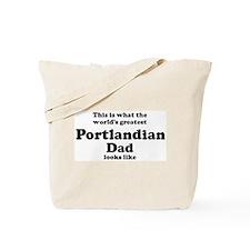 Portlandian dad looks like Tote Bag