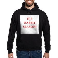 wabbit season Hoodie