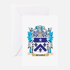 Hughes Coat of Arms - Family Crest Greeting Cards