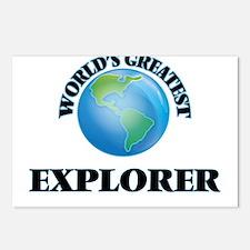 Funny Explorer Postcards (Package of 8)