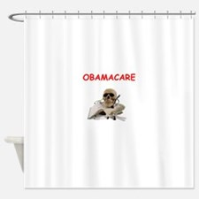 anti obamacare Shower Curtain